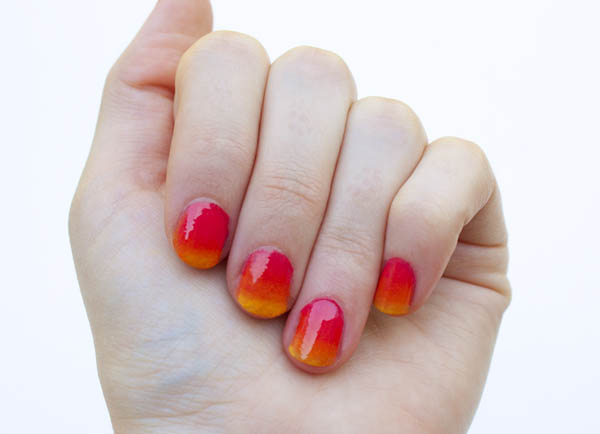 How to get... Easy ombre nails