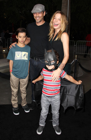 LeAnn Rimes with husband Eddie and kids