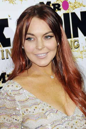 Lindsay Lohan maybe stole from Scary Movie 5 set