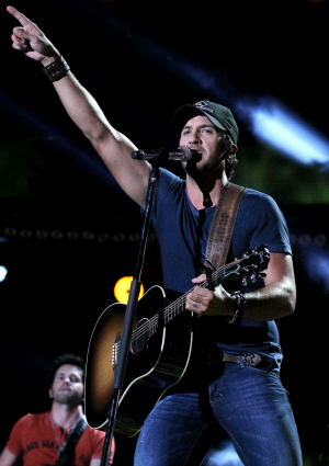 Luke Bryan Performing at the 2012 CMA Awards Festival