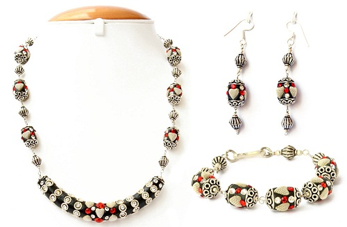 Maruti Beads Necklace set