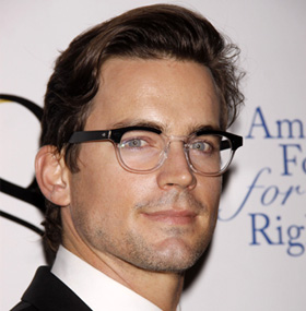 Matt Bomer at 8 reading