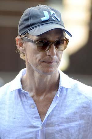 That's enough, Matthew McConaughey