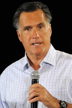 Mitt Romney gets $500 fake tans