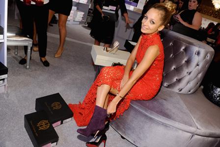 Red carpet footwear