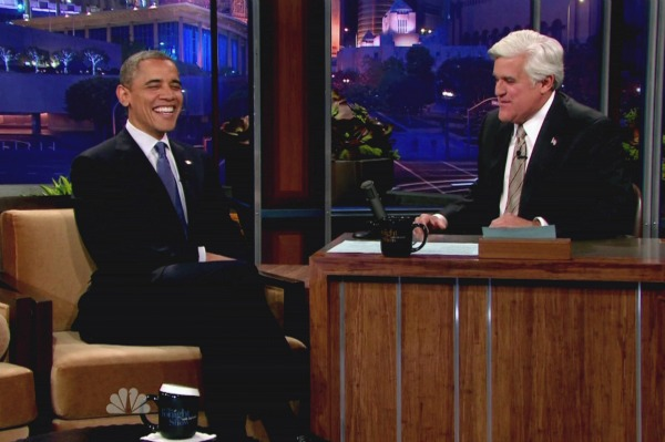 Barack Obama Jay Leno