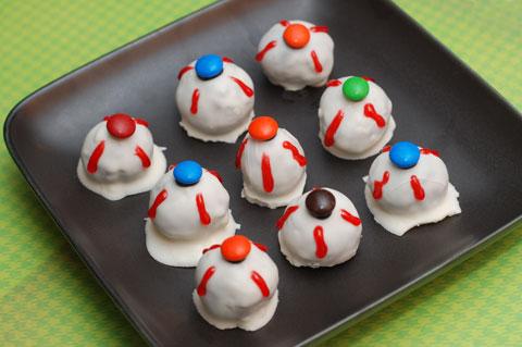 Oreo eyeballs recipe