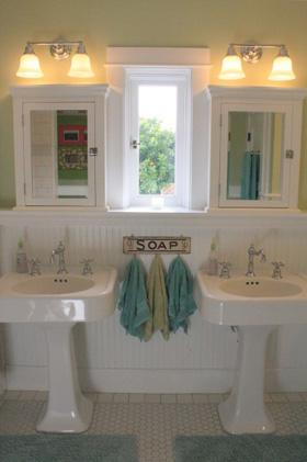 Bathroom updates we love!