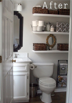 Our favorite bathroom update ideas for Updated small bathroom ideas