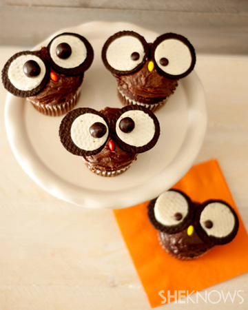 Owl cupcakes