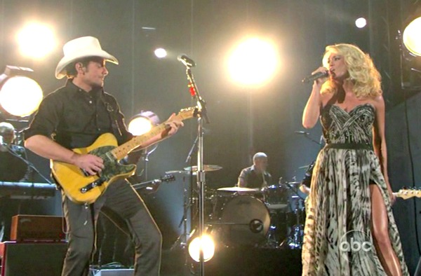 Brad & Carrie's fifth spin hosting the CMAs