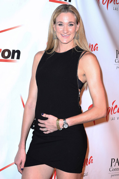 Pregnant Kerri Walsh