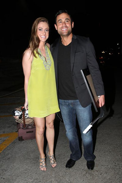 Pregnant Molly Mesnick and Jason Mesnic
