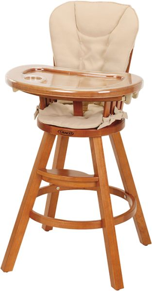 Recalled Graco Classic Wood Highchair
