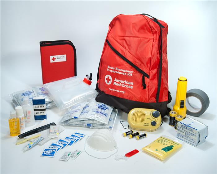 GE Red Cross Emergency Kits