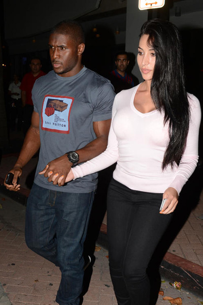Reggie Bush and pregnant Lilit Avagyan