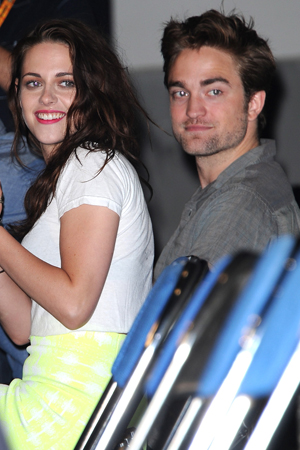 Kristen Stewart and Robert Pattinson together