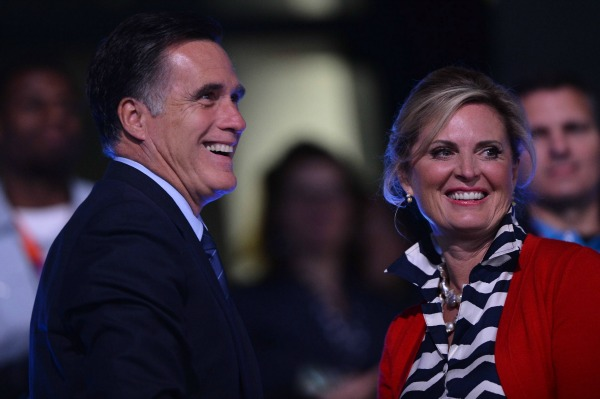 The Romneys at the opening ceremonies of the 2012 Olympics
