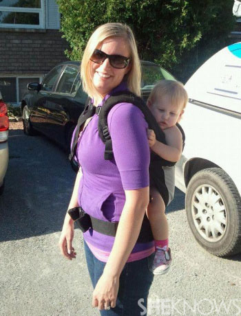 Alisha's babywearing photo