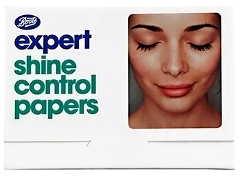 Boots expert shine control papers