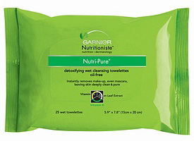 Garnier Nutritionist Nutri-Pure Detoxifying Wet Cleansing Towlettes