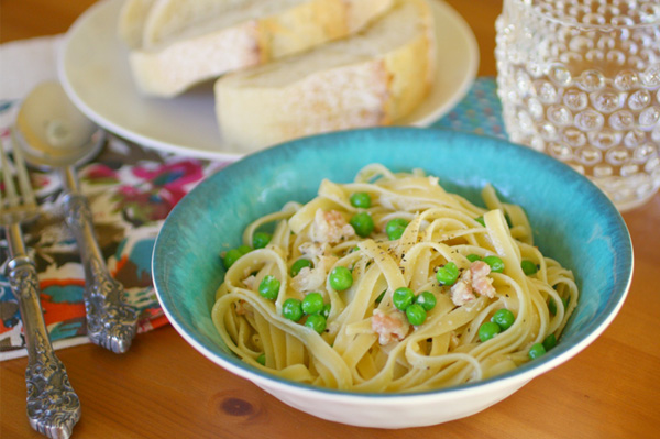 Sunday Dinner: Fettuccine Carbonara