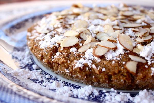 vegan apple quinoa cake