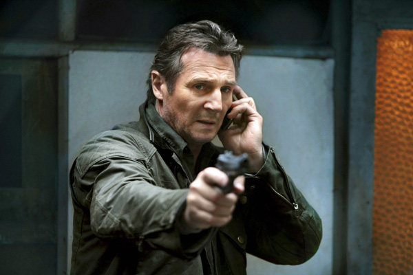Liam Neeson shows them who's boss