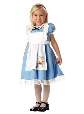 Alice in Wonderland Halloween costume for toddlers