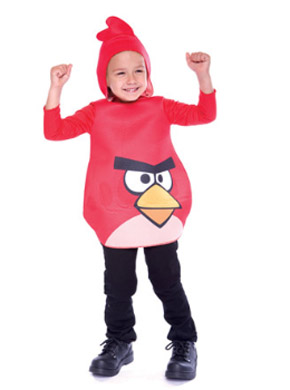 Angry Birds Halloween costume for toddlers