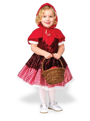 Little Red Riding Hood Halloween costume for toddlers