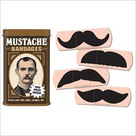 Mustache bandages ($4)