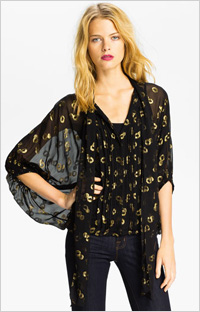 Our pick: DVF Joanne Blouse (Nordstrom, $345)
