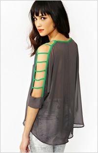 Our pick: Cut Out Top (NastyGal, $48)