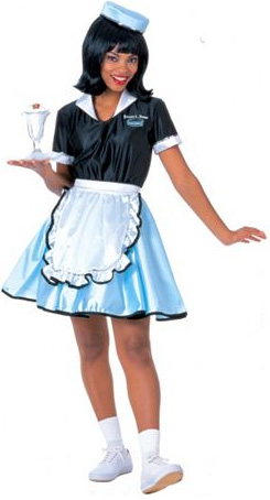 Waitress costume