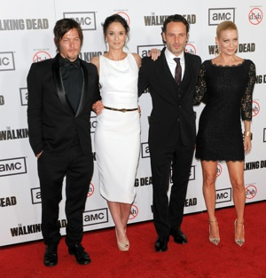 The Walking Dead Season 3 premiere