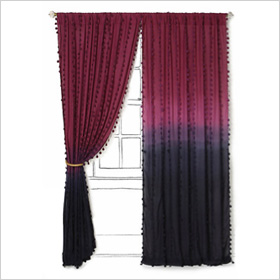 Ombre curtains