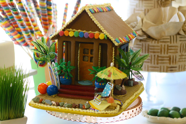 Not your usual gingerbread houses