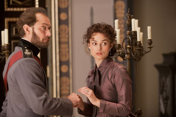 Jude Law and Keira Knightley, Anna Karenina
