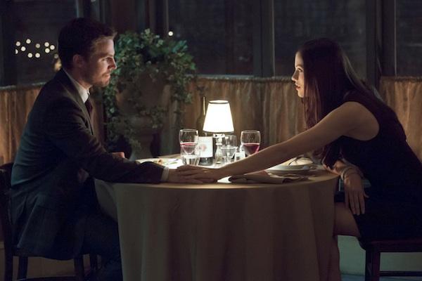 Oliver & Elena at dinner