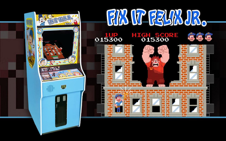 Play Wreck It Ralph : Fix-it Felix Jr. - Play Free Games ...