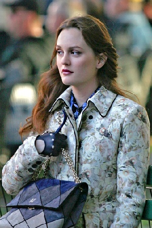 Gossip Girl's Blair, no doubt scheming