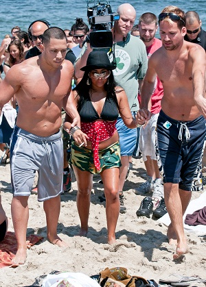 Snooki on the Jersey beach