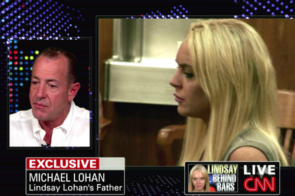 Michael Lohan Discussing Lindsay Lohan on Larry King Live