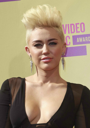 Miley Cyrus at the 2012 MTV Video Music Awards
