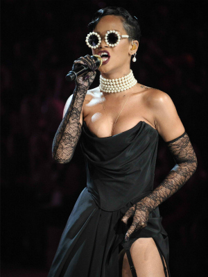 Rihanna at the 2012 Victoria Secret Fashion Show