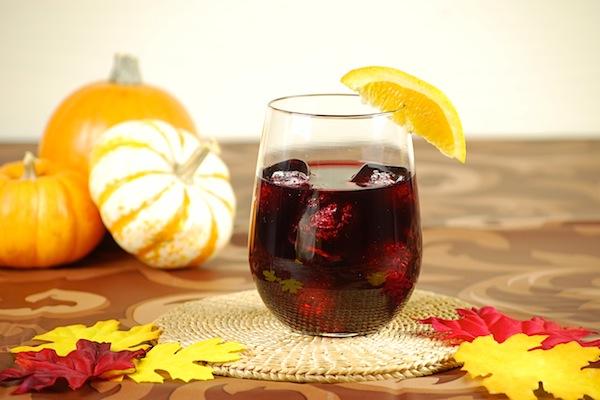 Spice rum sangria
