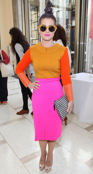 Kelly Osbourne at New York Fashion Week