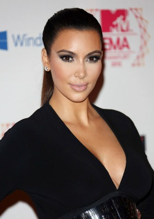 Kardashian  on Kim Kardashian At The Usmc Birthday Ball