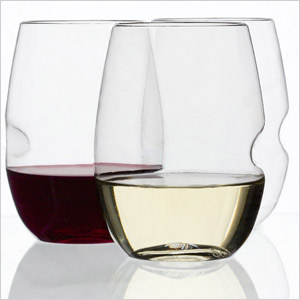 Shatter-proof wine glasses